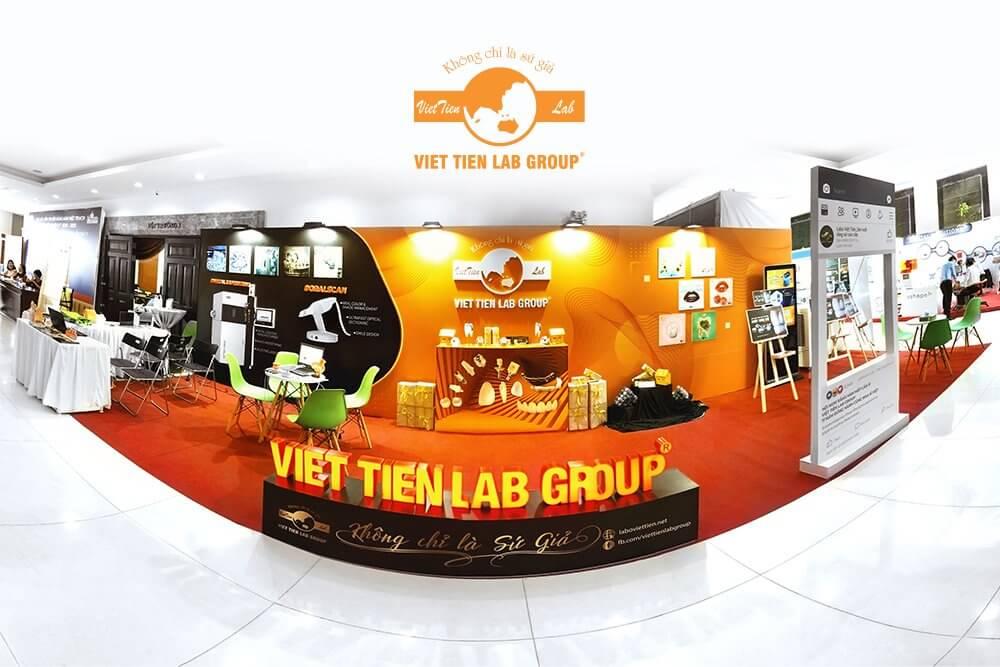 Việt Tiên Lab Group Tạo Ấn Tượng Với Khách Tham Dự  Hội Nghị Răng Hàm Mặt lần Thứ XI
