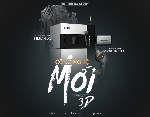 MÁY IN KIM LOẠI 3D HBD-150